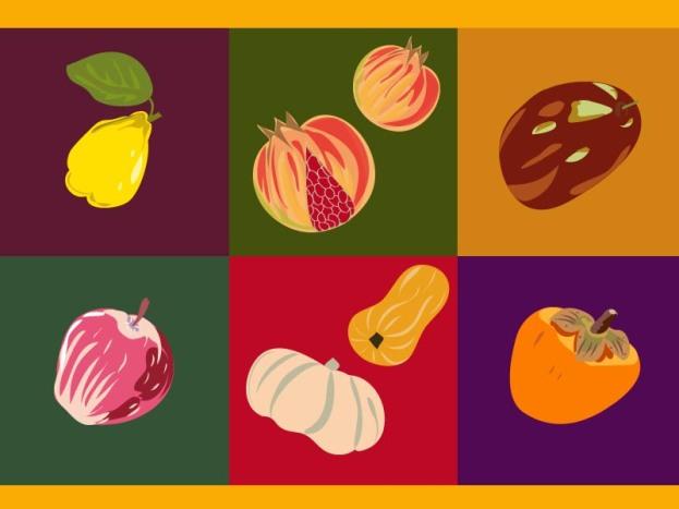 36 frutos del otoño