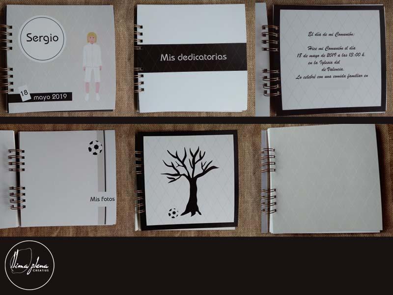 92 B llibre de firmes de comunio per a Sergio