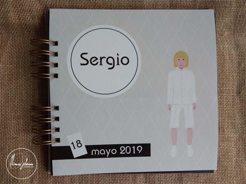 92 llibre de firmes de comunio per a Sergio